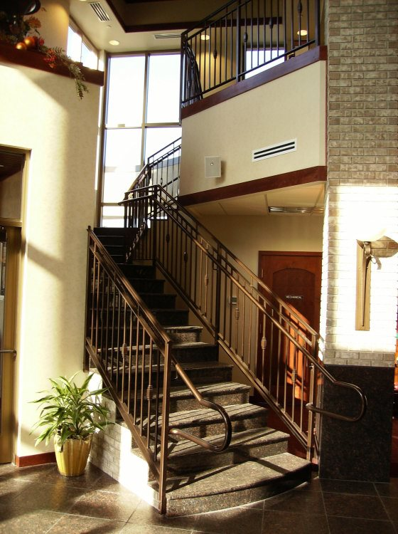 ... Example Of Commercial Stairs Or Railing ...
