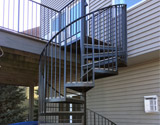 Custom Spiral Staircase or Stair Railing
